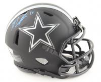 Micah Parsons Signed Cowboys Eclipse Alternate Speed Mini Helmet (Fanatics Hologram) at PristineAuction.com