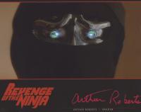 "Arthur Roberts Signed ""Revenge of The Ninja"" 8x10 Photo (ACOA COA) at PristineAuction.com"
