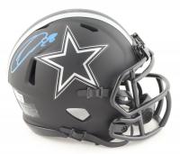 CeeDee Lamb Signed Cowboys Eclipse Alternate Speed Mini Helmet (Fanatics Hologram) at PristineAuction.com