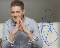 Michael Bublé Signed 8x10 Photo (ACOA COA) (See Description) at PristineAuction.com