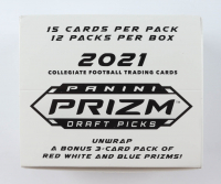 2021 Panini Prizm Draft Picks Football Multi Cello (12) Packs at PristineAuction.com
