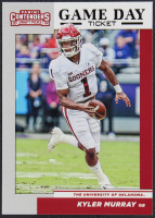 Kyler Murray 2019 Panini Contenders Draft Picks Game Day Ticket #1 at PristineAuction.com