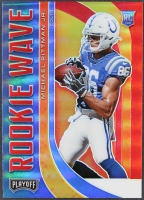 Michael Pittman Jr. 2020 Playoff Rookie Wave Red #14 RC at PristineAuction.com