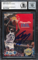 Shaquille O'Neal Signed 1992-93 SkyBox #382 RC (BGS Encapsulated) at PristineAuction.com
