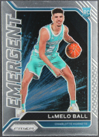 LaMelo Ball 2020-21 Panini Prizm Emergent #23 RC at PristineAuction.com