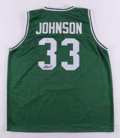Magic Johnson Signed Jersey (Beckett COA) (See Description) at PristineAuction.com