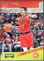 Trae Young 2018-19 Panini Chronicles #175 Playoff RC at PristineAuction.com