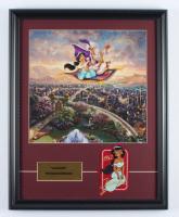 "Thomas Kinkade ""Aladdin"" 16x20 Custom Framed Print Display at PristineAuction.com"