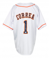Carlos Correa Signed Jersey (JSA COA) at PristineAuction.com