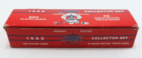 1988 Score Baseball Complete Set of (660) Cards with Tom Glavine #638 RC, Greg Walker #93A, Ken Caminiti #164 RC, Barry Bonds #265 at PristineAuction.com