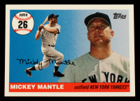 Mickey Mantle 2006 Topps Mantle Home Run History #26 at PristineAuction.com
