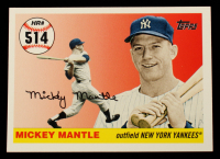 Mickey Mantle 2006 Topps Mantle Home Run History #514 at PristineAuction.com