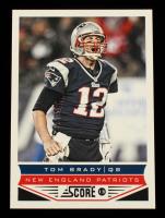 Tom Brady 2013 Score #123 at PristineAuction.com