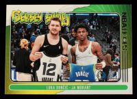 Ja Morant / Luka Doncic 2020-21 Hoops Jersey Swap #7 at PristineAuction.com