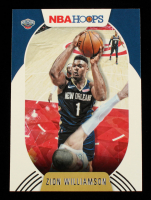 Zion Williamson 2020-21 Hoops #163 at PristineAuction.com