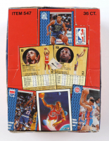 1991-92 Fleer Basketball Wax Box of (36) Packs at PristineAuction.com