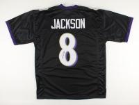 Lamar Jackson Signed Jersey (JSA Hologram) at PristineAuction.com