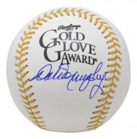 Dale Murphy Signed Golden Glove Baseball (PSA COA) at PristineAuction.com