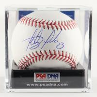 Fernando Tatís Jr. Signed OML Baseball with Display Case (PSA COA - Graded 9) at PristineAuction.com