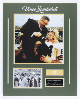 Vince Lombardi Signed Packers 16x20 Custom Matted Cut Display (Beckett LOA) at PristineAuction.com
