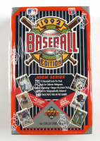 1992 Upper Deck High Series Baseball Box of (36) Packs at PristineAuction.com