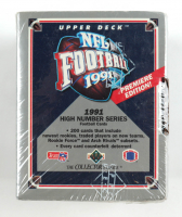 1991 Upper Deck Football Premiere Edition High Number Series Box of (200) Cards at PristineAuction.com