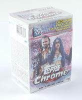 2021 Topps Chrome WWE Wrestling Blaster Box of (7) Packs at PristineAuction.com
