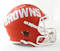 Baker Mayfield Signed Browns Full-Size AMP Alternate Speed Helmet (Beckett COA) at PristineAuction.com