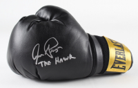"""Aaron Pryor Signed Everlast Boxing Glove Inscribed """"The Hawk"""" (JSA COA) at PristineAuction.com"""