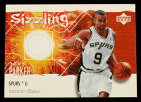 Tony Parker 2005-06 Upper Deck Rookie Debut Sizzling Swatches #TP at PristineAuction.com