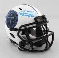 Ryan Tannehill Signed Titans Lunar Eclipse Alternate Speed Mini Helmet (Beckett Hologram) at PristineAuction.com
