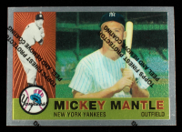 Mickey Mantle 1996 Topps Mantle Finest #10 1960 Topps at PristineAuction.com