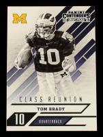 Tom Brady 2016 Panini Contenders Draft Picks Class Reunion #25 at PristineAuction.com