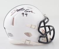 Yetur Gross-Matos Signed Penn State Nittany Lions Speed Mini Helmet (Beckett COA) at PristineAuction.com