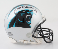 Yetur Gross-Matos Signed Panthers Mini Helmet (Beckett COA) at PristineAuction.com