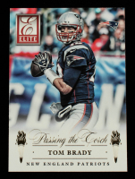 Tom Brady / Jimmy Garoppolo 2015 Donruss Elite Inserts Passing the Torch #5 at PristineAuction.com