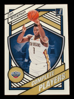 Zion Williamson 2020-21 Donruss Complete Players #9 at PristineAuction.com