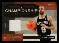 Tony Parker 2009-10 Timeless Treasures Championship Season Materials #8 #85/100 at PristineAuction.com