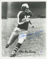 "Steve Van Buren Signed Eagles 8x10 Photo Inscribed ""HOF 65"" (PSA COA) at PristineAuction.com"