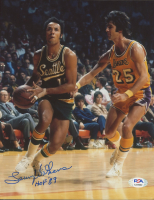 """Lenny Wilkens Signed SuperSonics 8x10 Photo Inscribed """"HOF '89"""" (PSA COA) at PristineAuction.com"""
