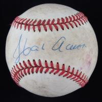 Hank Aaron Signed ONL Baseball (JSA LOA) at PristineAuction.com
