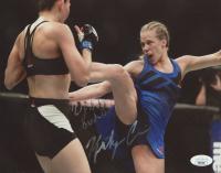 """Katlyn Chookagian Signed UFC 8x10 Photo Inscribed """"Lights Out"""" (JSA Hologram) at PristineAuction.com"""