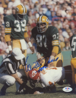 """Willie Davis Signed Packers 8x10 Photo Inscribed """"HOF 81"""" (PSA COA) at PristineAuction.com"""