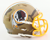 Redskins Camo Alternate Speed Mini Helmet (New) at PristineAuction.com