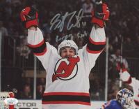 "Stephen Gionta Signed Devils 8x10 Photo Inscribed ""Rangers Suck"" (JSA Hologram) at PristineAuction.com"
