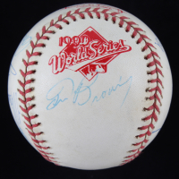 1990 Reds Official World Series Baseball Team-Signed by (11) with Norm Charlton, Tom Browning, Chris Sabo, Paul O'Neil, Mariano Duncan (JSA LOA) at PristineAuction.com