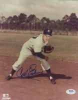 Carl Erskine Signed Dodgers 8x10 Photo (PSA COA) at PristineAuction.com