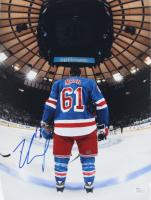 Rick Nash Signed Rangers 11x14 Photo (JSA COA) at PristineAuction.com