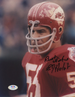 """E. J. Holub Signed Chiefs 8x10 Photo Inscribed """"Best Wishes"""" (PSA COA) at PristineAuction.com"""