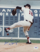 """Jim Lonborg Signed Red Sox 8x10 Photo Inscribed """"Cy Young '67"""" (PSA COA) at PristineAuction.com"""